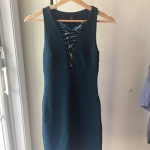 Topshop Gorgeous Fitted Dress